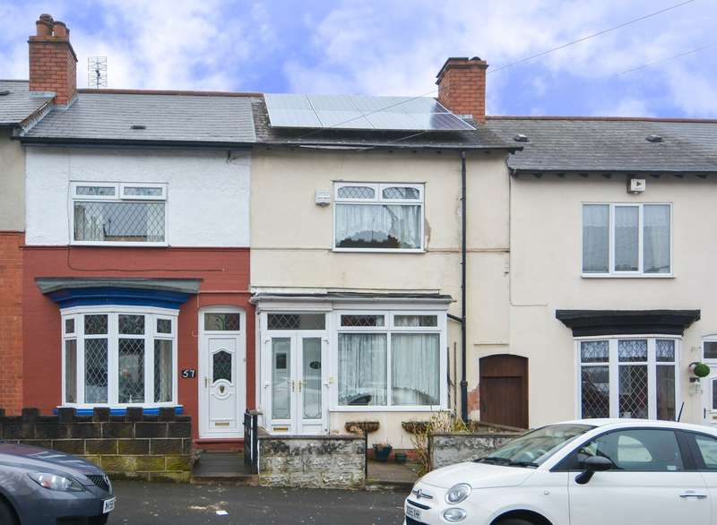 2 Bedrooms Terraced House for sale in Marlborough Road, Bearwood, B66