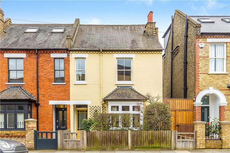 3 Bedrooms Terraced House for sale in Effra Road, London, SW19