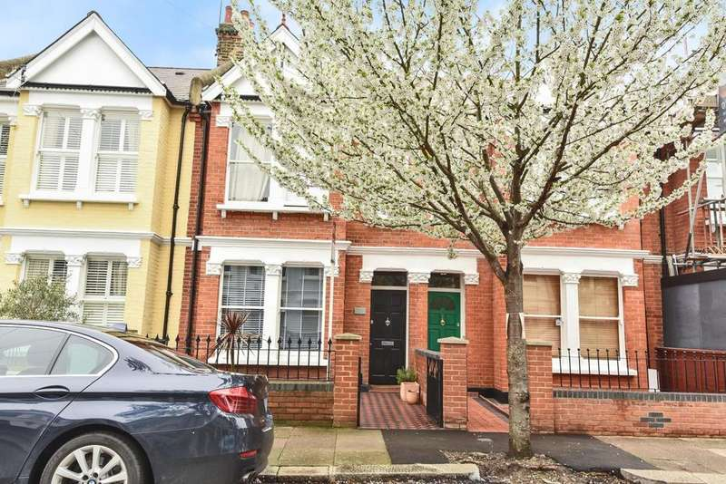 3 Bedrooms Terraced House for sale in Temple Road, Chiswick