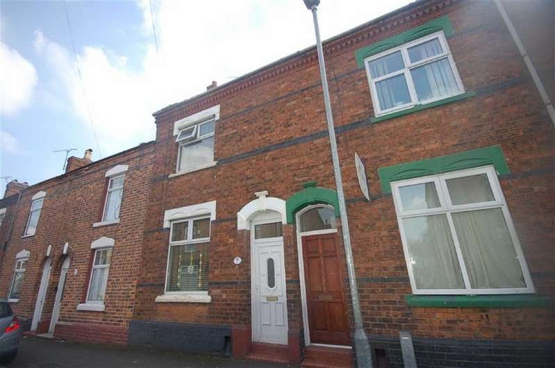 2 Bedrooms Terraced House for sale in Rigg Street, Crewe