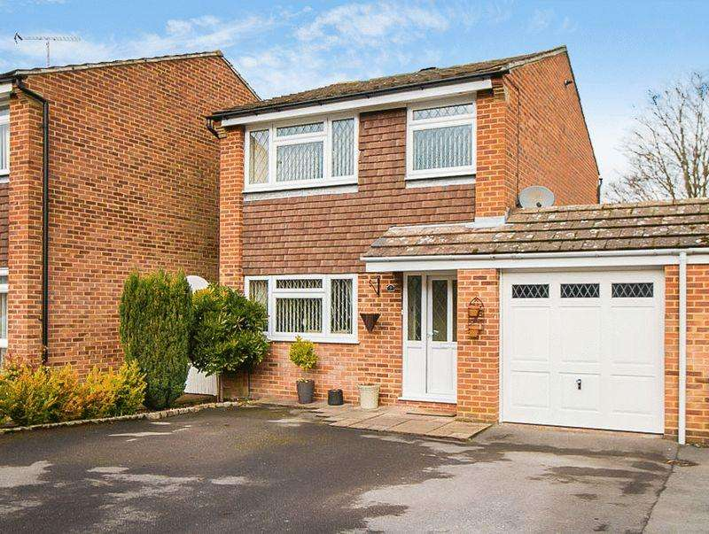 3 Bedrooms Link Detached House for sale in Osier Way, Banstead. SM7 1LL