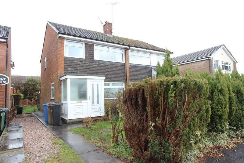 3 Bedrooms Semi Detached House for sale in Troon Close, Bramhall