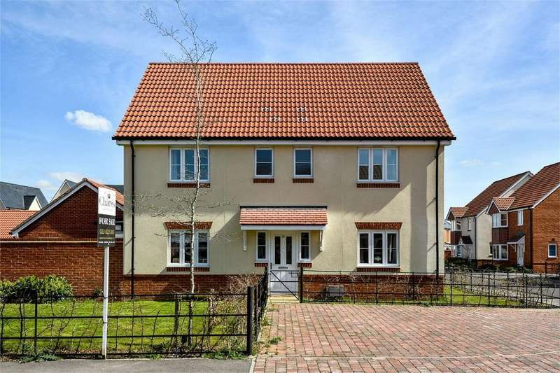 4 Bedrooms Detached House for sale in George Raymond Road, Eastleigh, Hampshire