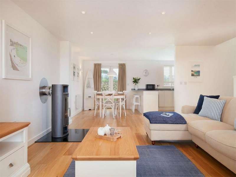 3 Bedrooms Detached House for sale in Una St Ives, Laity Lane, Carbis Bay, ST IVES, Cornwall