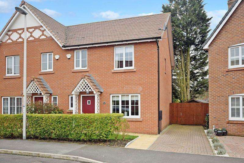 3 Bedrooms Semi Detached House for sale in St Aidans Drive, WIDNES