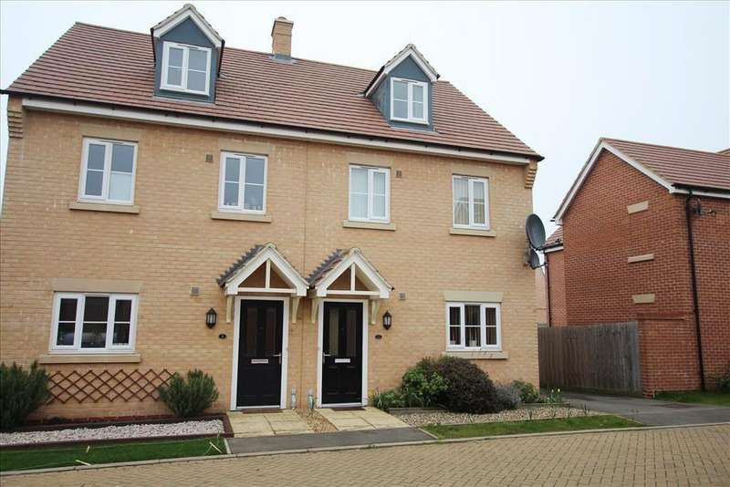 3 Bedrooms Semi Detached House for sale in Dartmoor Way, Biggleswade, SG18