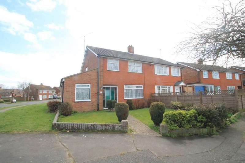 3 Bedrooms Semi Detached House for sale in Welbeck Avenue, Bedgrove, Aylesbury