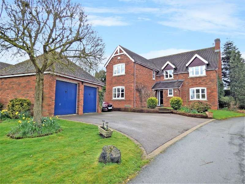 5 Bedrooms Detached House for sale in Eddies Lane, Elford, Staffordshire