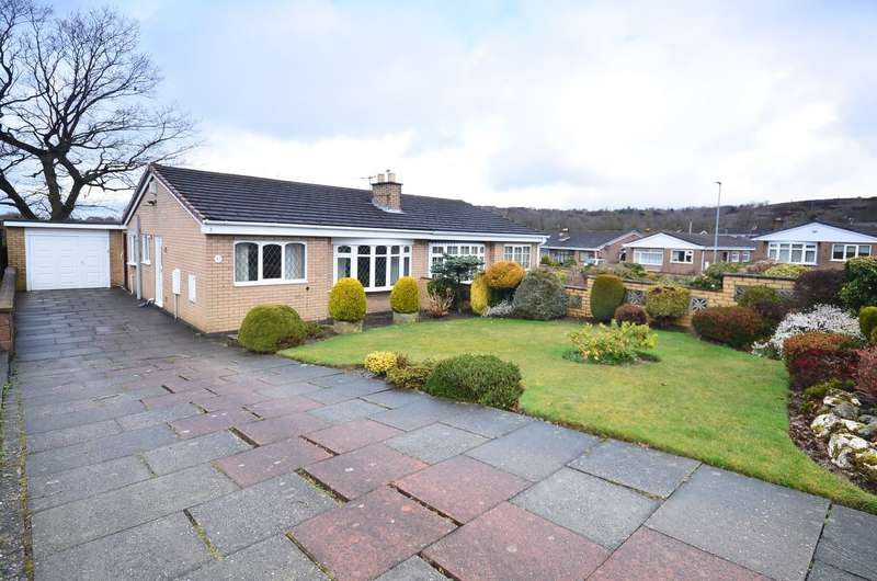 2 Bedrooms Semi Detached Bungalow for sale in Delaney Drive, Parkhall, ST3 5RG