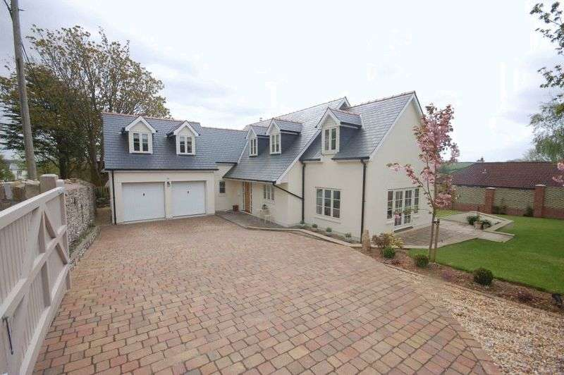 5 Bedrooms Property for sale in Three Oaks, Llanblethian, Nr Cowbridge