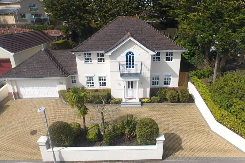 4 Bedrooms Detached House for sale in Compton Avenue, Lilliput, Poole, BH14 8PU