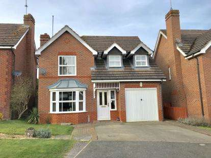 4 Bedrooms Detached House for sale in William Close, Banbury, Oxon, England.