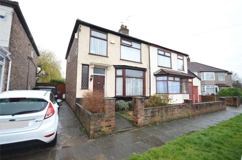 3 Bedrooms Semi Detached House for sale in Stratford Road, Aigburth, Liverpool, L19