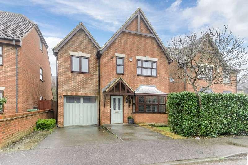 4 Bedrooms Detached House for sale in Malton Close, Monkston,