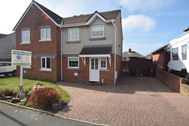 3 Bedrooms Semi Detached House for sale in Lichfield Close, Barrow-in-Furness, Cumbria, LA14 5LX