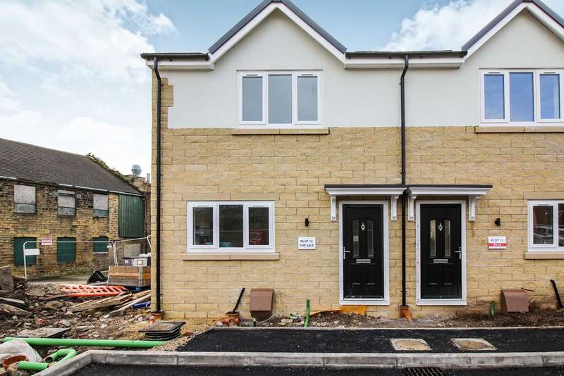 2 Bedrooms Semi Detached House for sale in Tunwell Court, Eccleshill