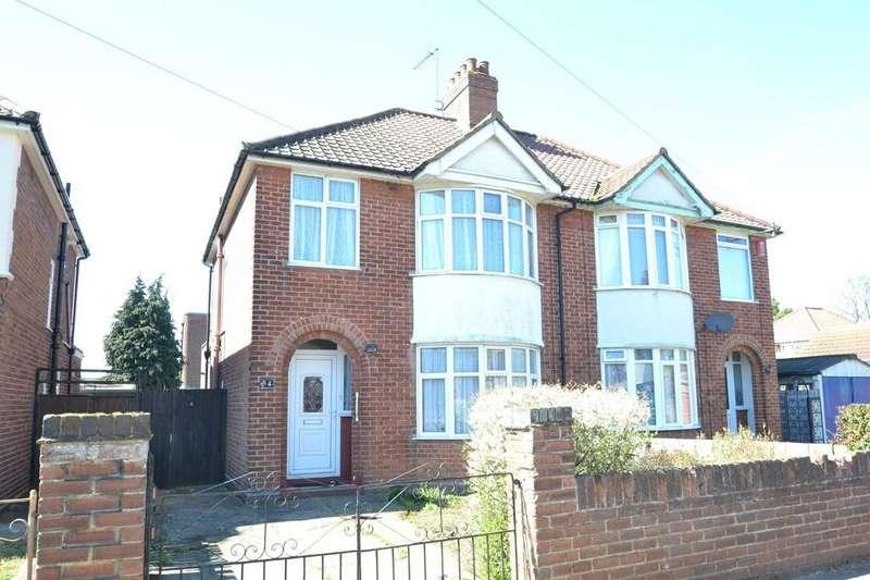 3 Bedrooms Semi Detached House for sale in Wroxham Road, Ipswich, IP3 0PH