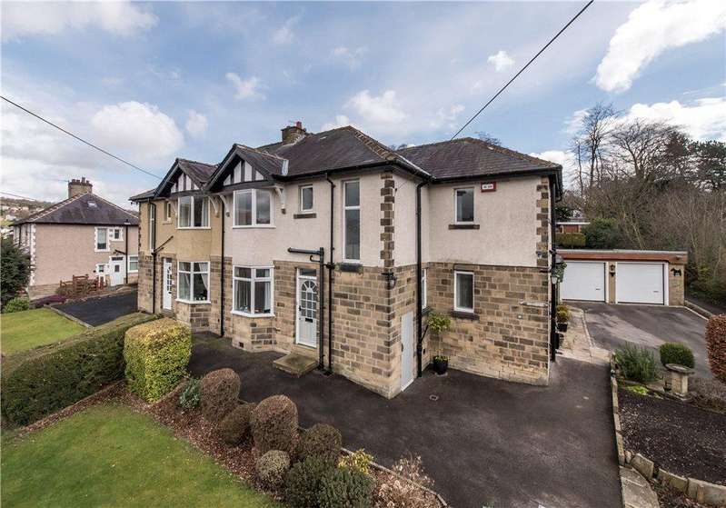 4 Bedrooms Semi Detached House for sale in Longwood Avenue, Bingley, West Yorkshire