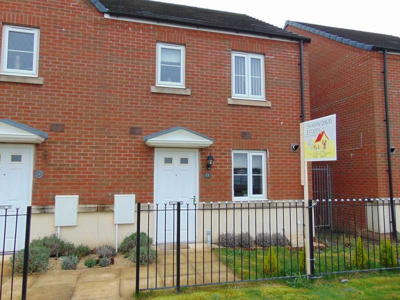 3 Bedrooms Semi Detached House for sale in Rhodfa Delme, Llanelli