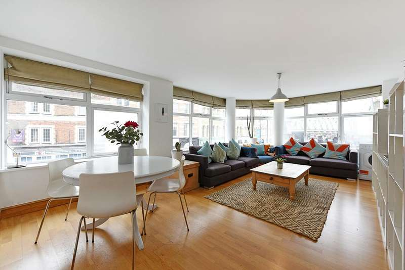 2 Bedrooms Flat for sale in Basing Place, Shoreditch, London