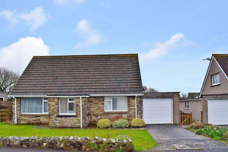 3 Bedrooms Detached Bungalow for sale in Crafthole, Cornwall