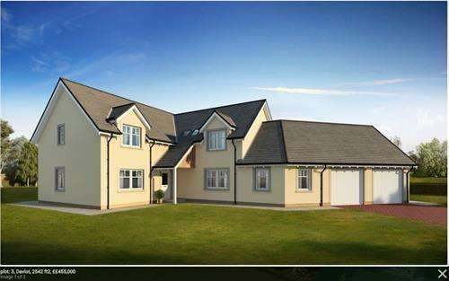 5 Bedrooms Detached House for sale in Plot 2, Marlefield Grove, Tibbermore