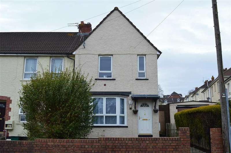 2 Bedrooms End Of Terrace House for sale in Syston Way, Kingswood, Bristol
