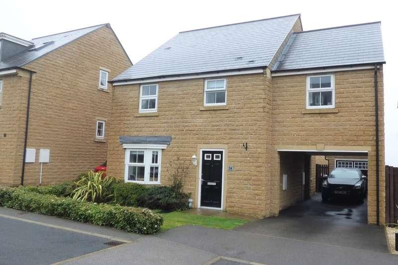 4 Bedrooms Detached House for sale in Honey Pot Drive, Baildon, Shipley, BD17
