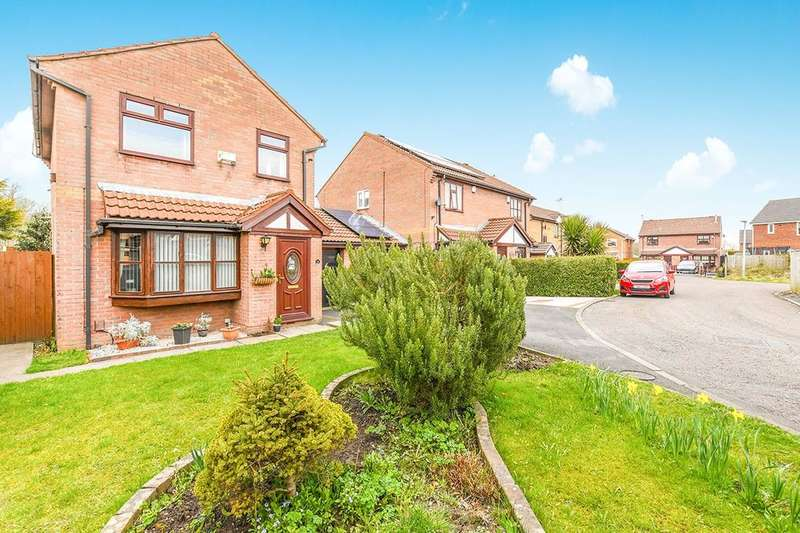 3 Bedrooms Detached House for sale in Marling Park, Widnes, WA8