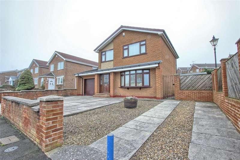 3 Bedrooms Detached House for sale in Coxmoor Way, New Marske
