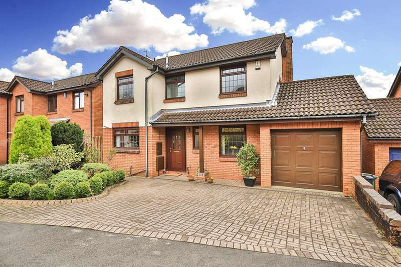 4 Bedrooms Detached House for sale in Copperfield Drive, Thornhill, Cardiff