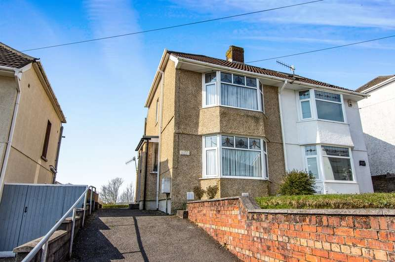 2 Bedrooms Semi Detached House for sale in Pentregethin Road, Gendros, Swansea