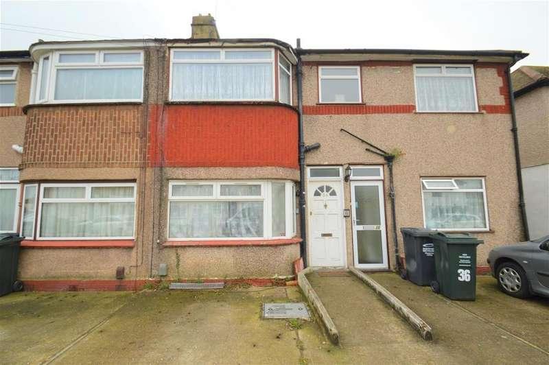 2 Bedrooms Maisonette Flat for sale in Burnham Crescent, Dartford