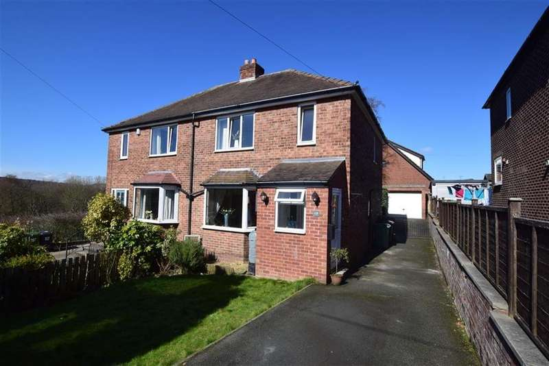 3 Bedrooms Semi Detached House for sale in Rowley Lane, Lepton, Huddersfield, HD8