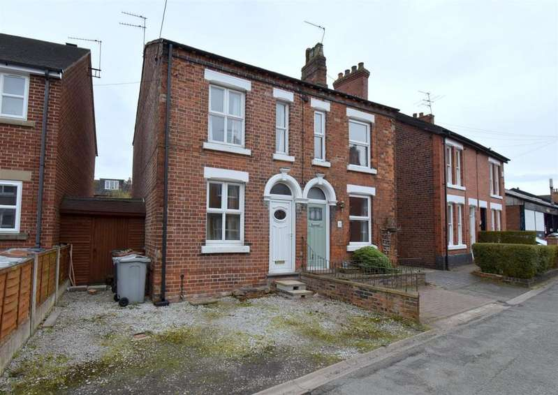 2 Bedrooms Semi Detached House for sale in Wesley Avenue, Alsager