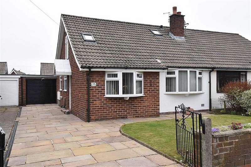 2 Bedrooms Semi Detached Bungalow for sale in Beechway, Bollington, Macclesfield