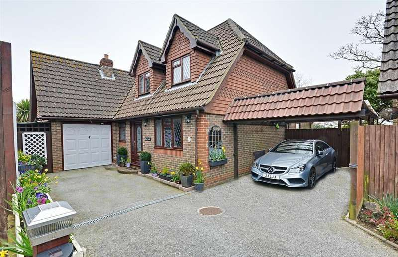 4 Bedrooms Detached House for sale in Callums Walk, Bexhill-On-Sea