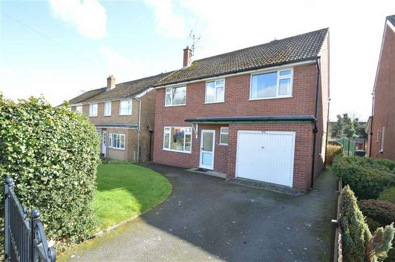 4 Bedrooms Detached House for sale in 61a, Mytton Oak Road, Shrewsbury, SY3