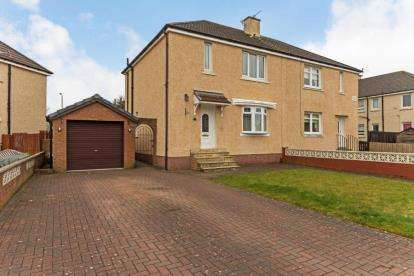3 Bedrooms Semi Detached House for sale in Glencairn Avenue, Wishaw, North Lanarkshire
