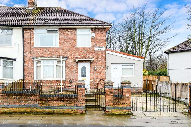 4 Bedrooms End Of Terrace House for sale in Morningside Road, Liverpool, Merseyside, L11