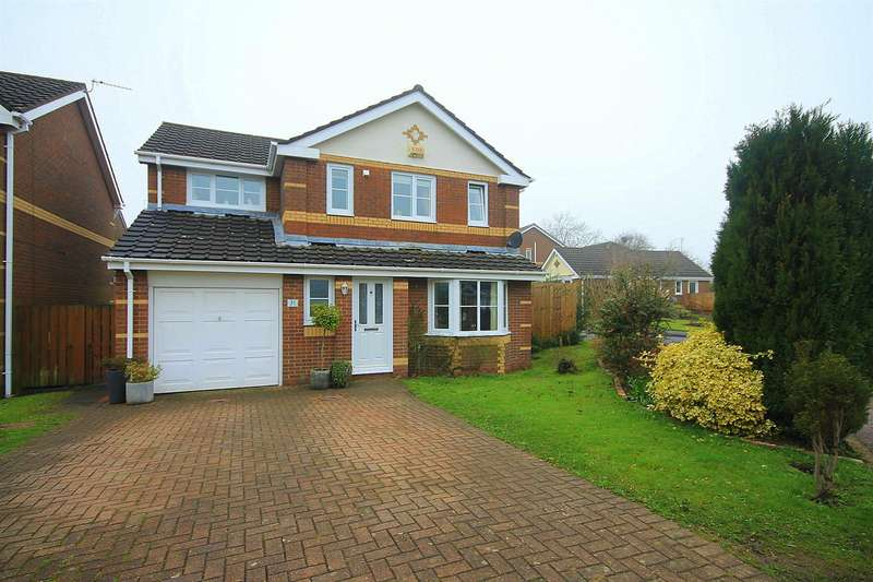 4 Bedrooms Detached House for sale in Telford Close, High Shincliffe, Durham