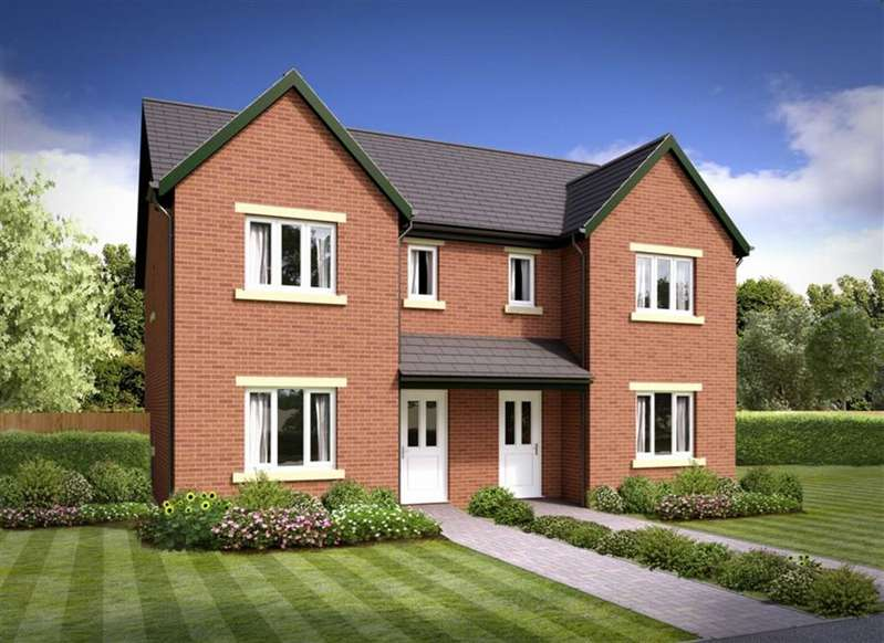 3 Bedrooms Semi Detached House for sale in The Brathay - Plot 33, Barrow-in-Furness, Cumbria