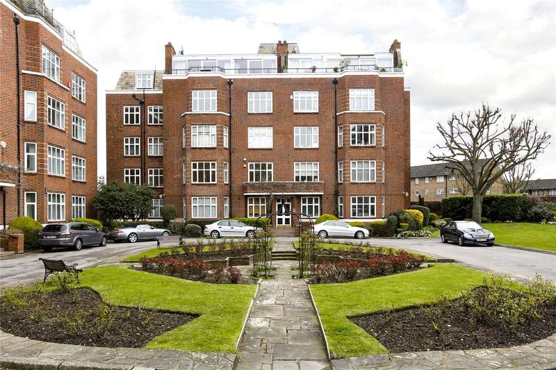 3 Bedrooms Flat for sale in Ross Court, 81 Putney Hill, London, SW15
