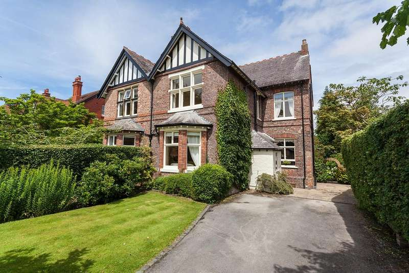 5 Bedrooms Semi Detached House for sale in Hawthorn Lane, Wilmslow