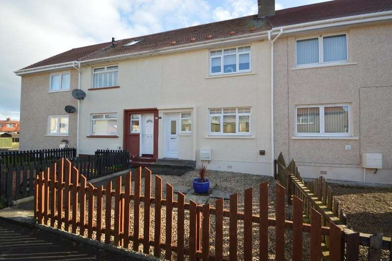 2 Bedrooms Terraced House for sale in Coronation Street, Monkton, South Ayrshire, KA9 2QW