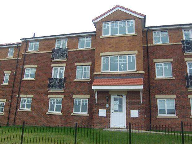 2 Bedrooms Ground Flat for rent in STRAWBERRY APARTMENTS, BISHOP CUTHBERT, HARTLEPOOL