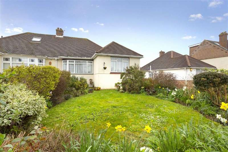2 Bedrooms Semi Detached Bungalow for sale in Foredown Drive, Portslade