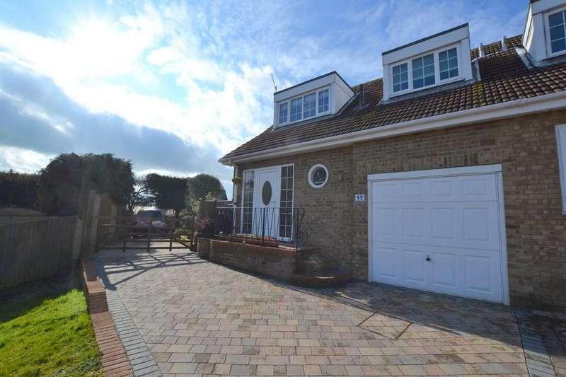 3 Bedrooms Semi Detached House for sale in Nursery Fields, Hythe, Kent