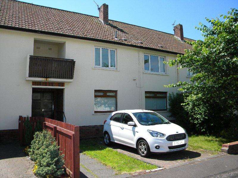 2 Bedrooms Flat for sale in Callendar Place, Ayr, South Ayrshire, KA8 9EL