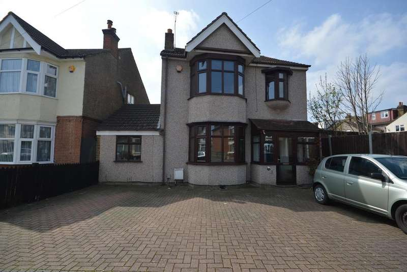 4 Bedrooms Detached House for sale in Linden Street, Romford, RM7